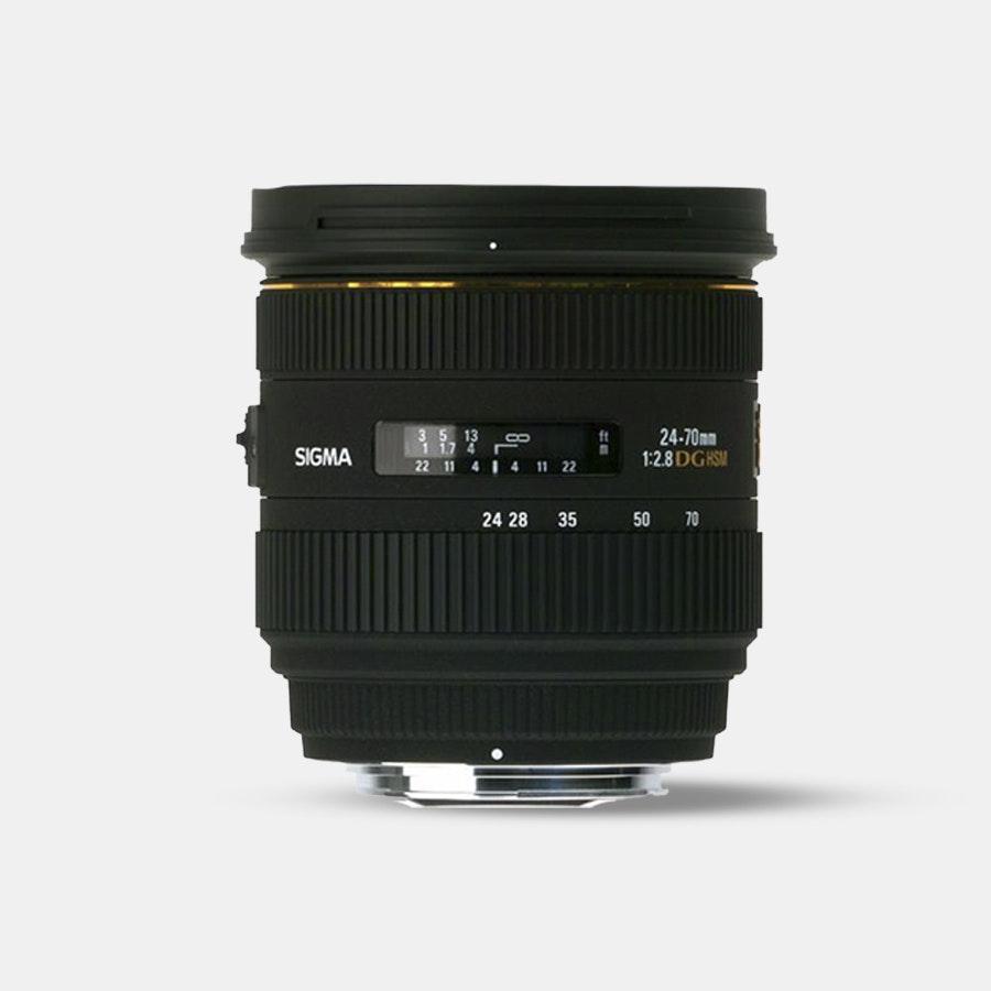 Sigma  24-70mm F2.8 IF EX DG HSM Lens