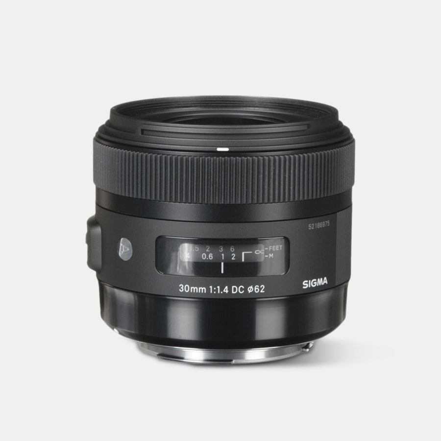 Sigma 30mm f|1.4 DC HSM Art Lens