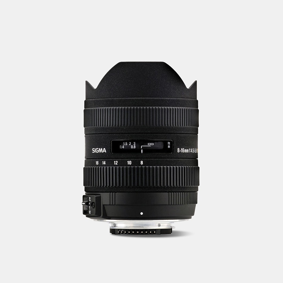 Sigma 8-16mm f4.5-5.6 DC HSM Ultra-Wide Zoom Lens