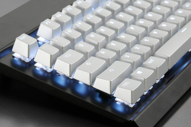Silver ABS Shine Through Keycap Set