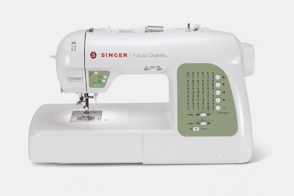 Singer Futura SEQS40 Quartet Price Reviews Massdrop Custom How To Thread A Singer Futura Sewing Machine