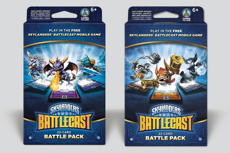 Skylanders Battlecast: Battle Pack A & B Bundle