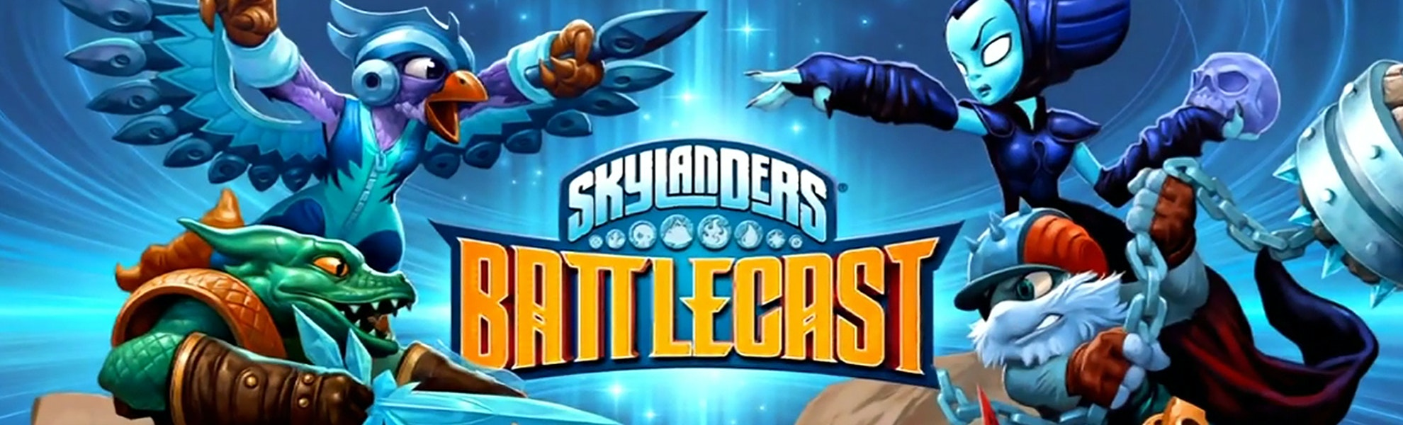 Skylanders Battlecast Bundle