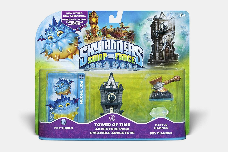 Pop Thorn, Tower of Time, Battle Hammer Sky Diamond