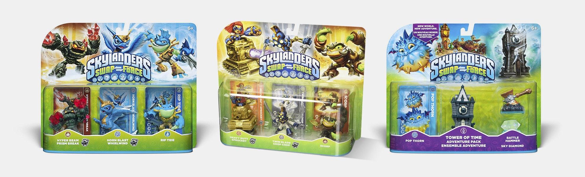 Skylanders SWAP Force 3-Pack Bundle
