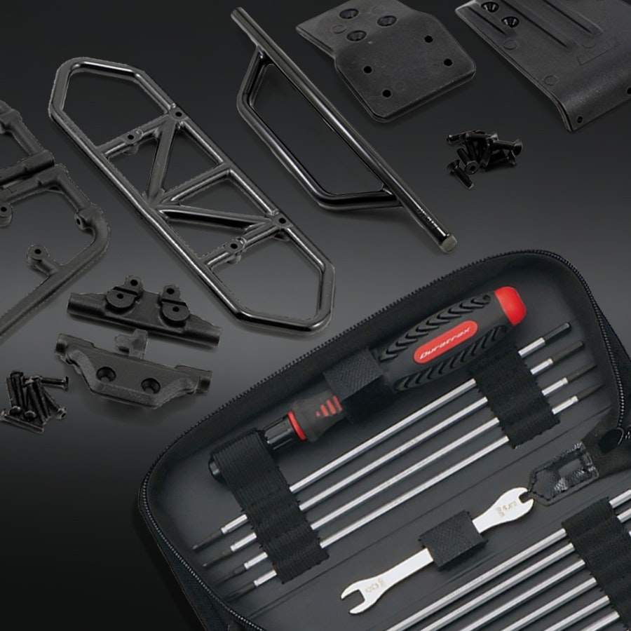 Slash 4x4 RPM Parts with Tool and Screw Kit Bundle