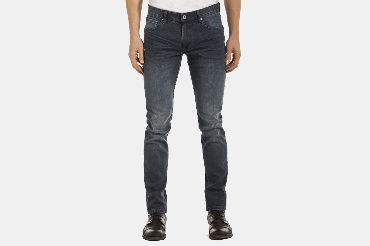 Slim Tapered - Grey Vintage Wash