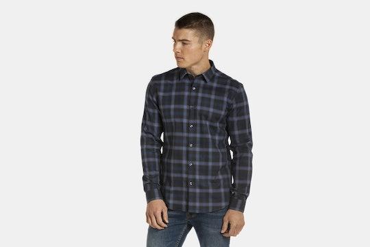 Slate Denim Button-Down Shirts