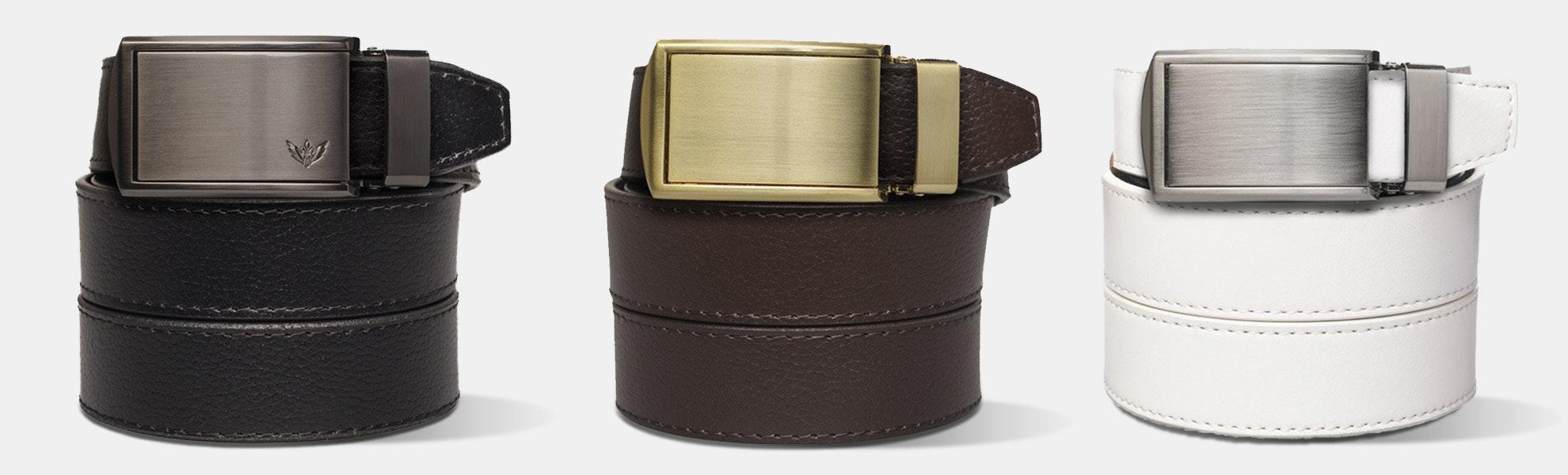 SlideBelts Ratchet Belts: Classic Collection