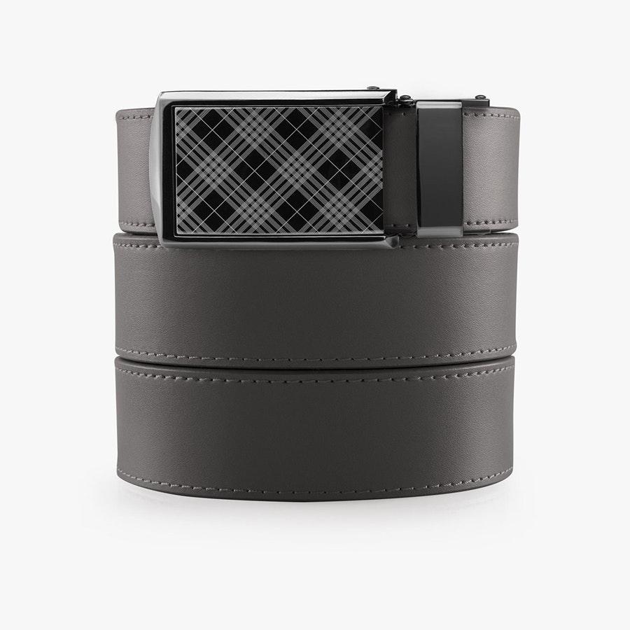 Gray Leather – Tartan