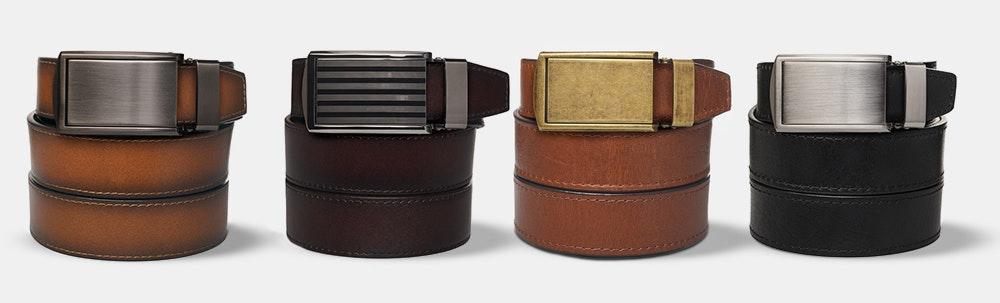 SlideBelts Ratchet Belt: Premium Collection