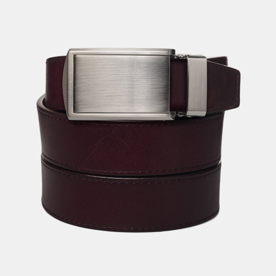 Cordovan Full Grain – Silver Buckle (+ $30)