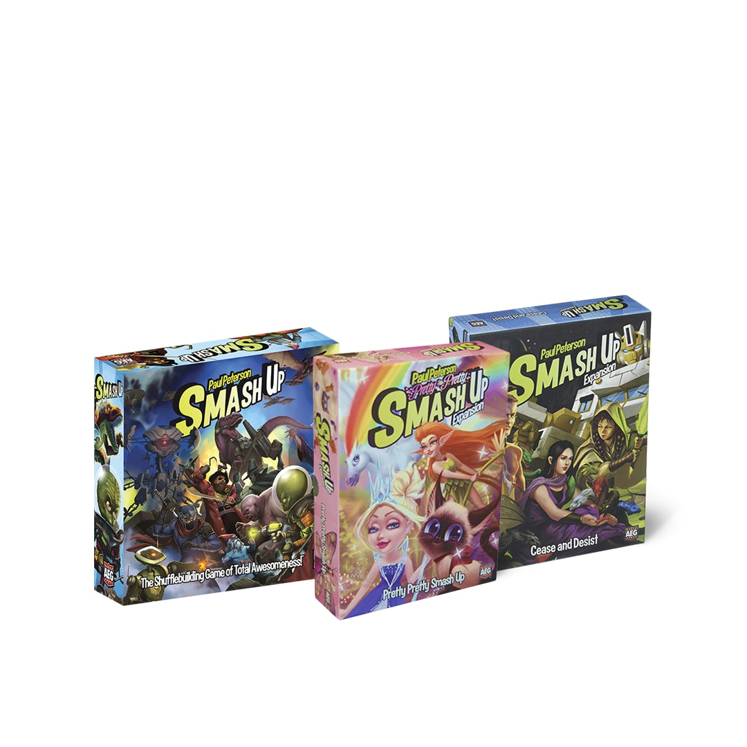 Smash Up Board Game Bundle