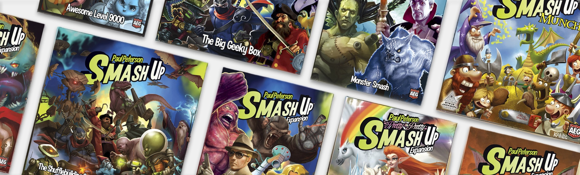 Smash Up: The Complete Collection