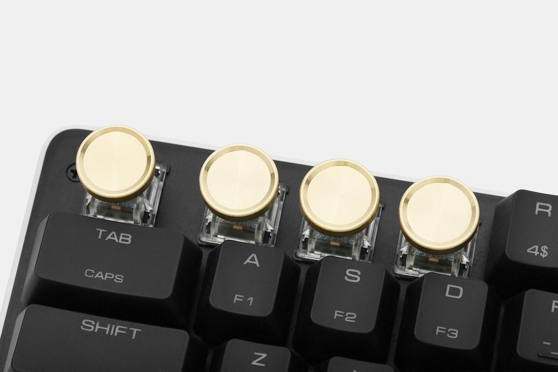 SMRT Gadget Metal Typewriter Novelty Keycaps