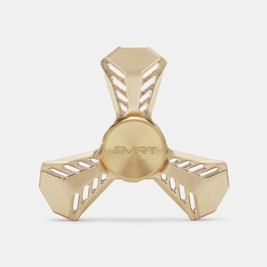 SMRT Prometheus Brass Spinner