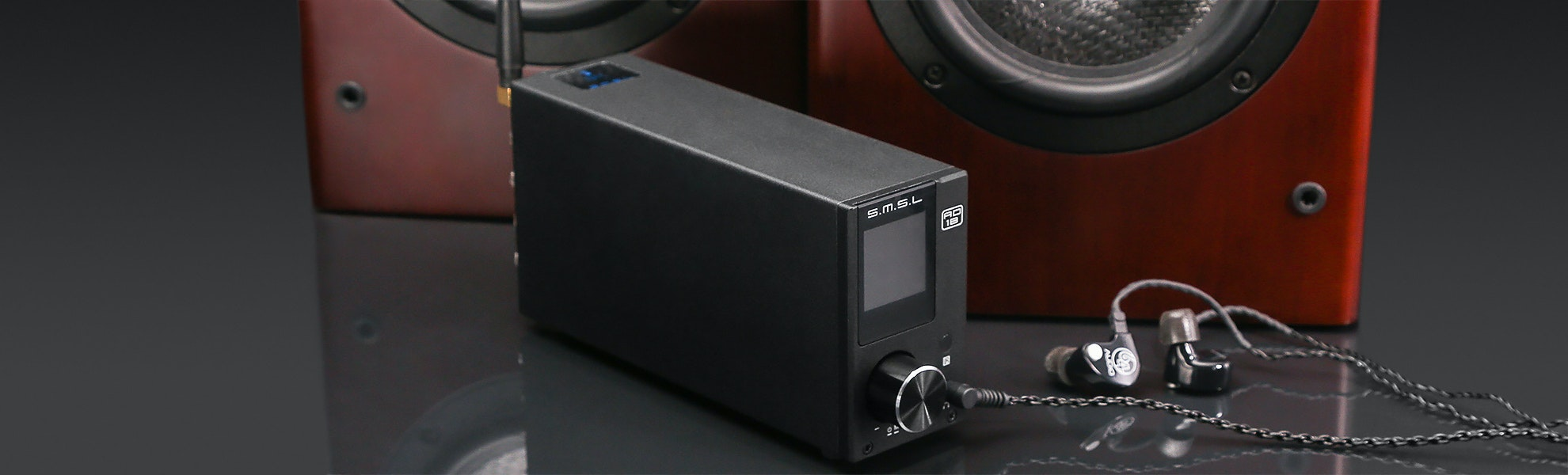 SMSL AD18 Bluetooth & USB Power Amplifier