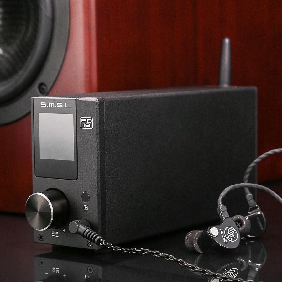 SMSL AD18 Bluetooth Stereo & Headphone DAC/Amp