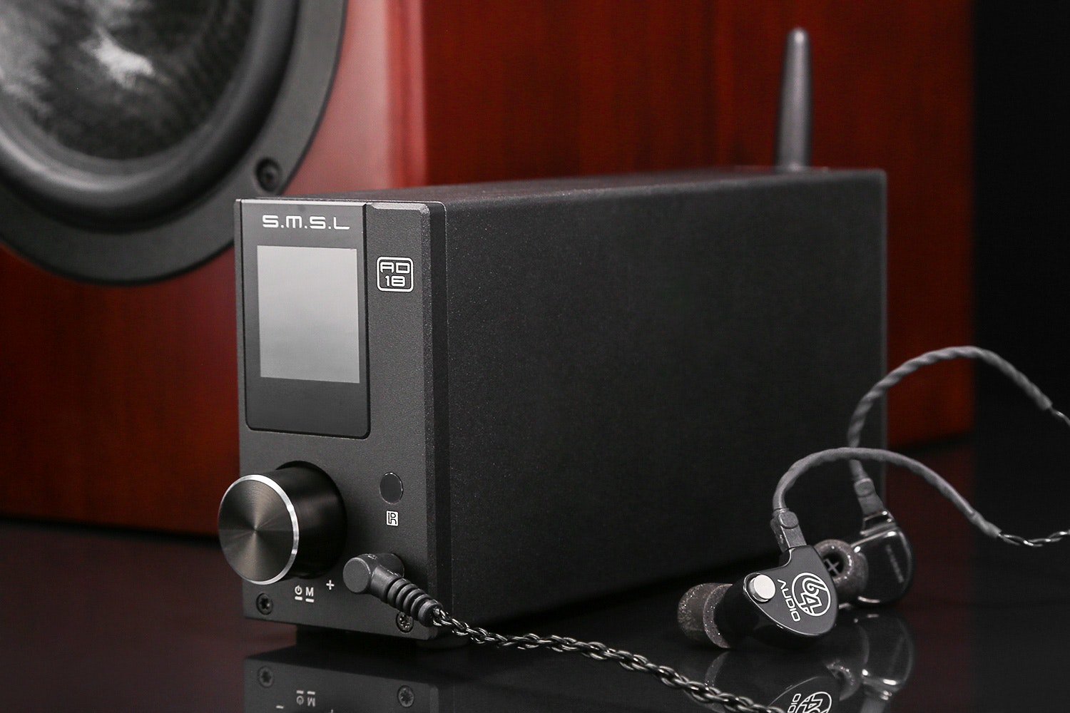 SMSL AD18 Bluetooth & USB Power Amplifier