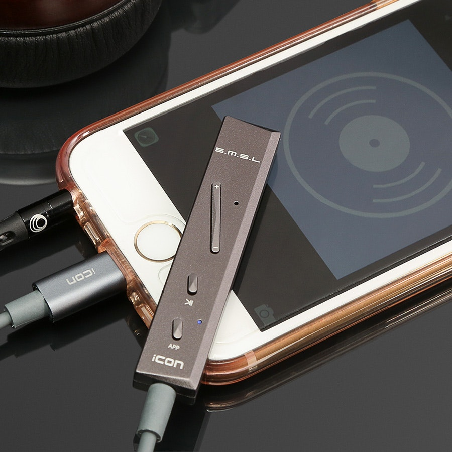 SMSL Icon Lightning DAC/Amp for iOS
