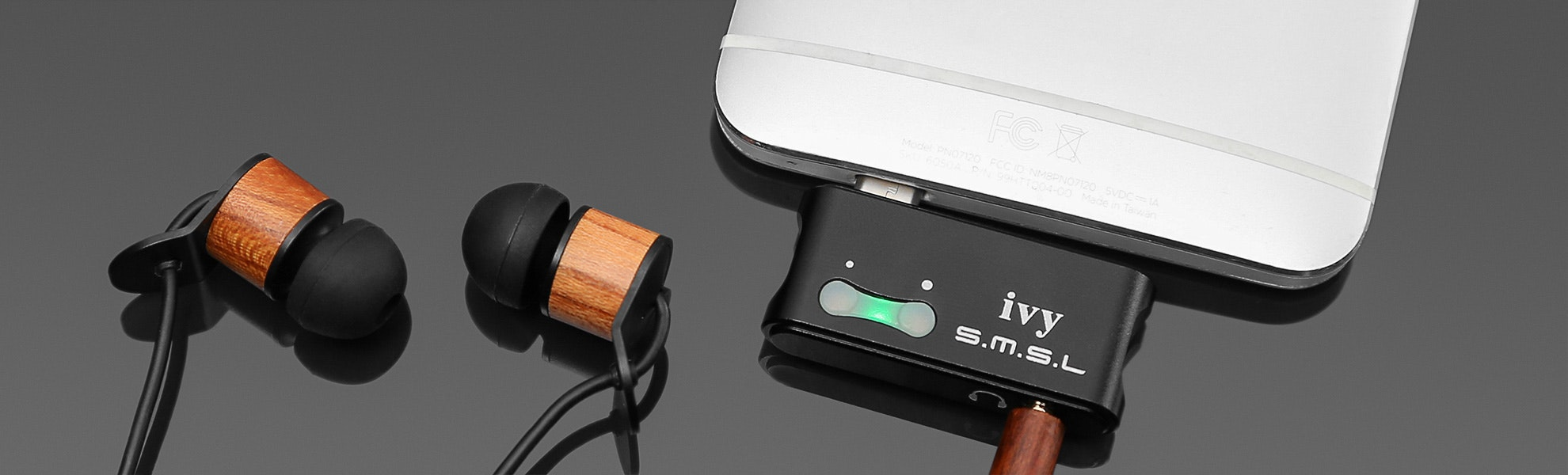 SMSL Ivy Micro-USB DAC/Amp for Android