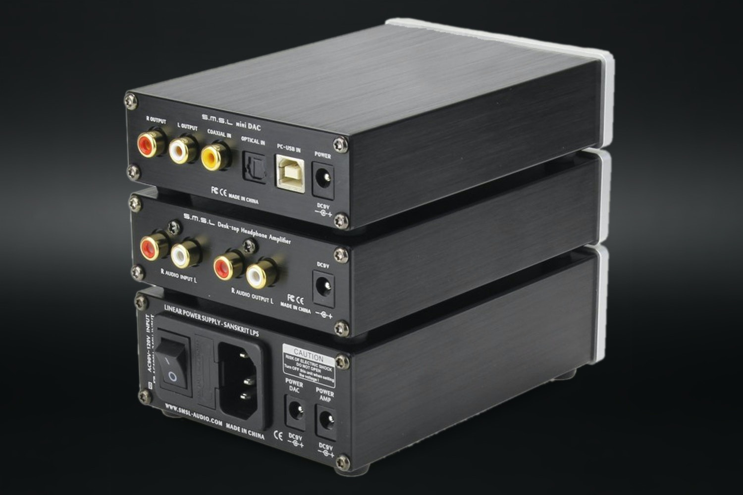 SMSL Panda DAC and Headphone Amplifier Set