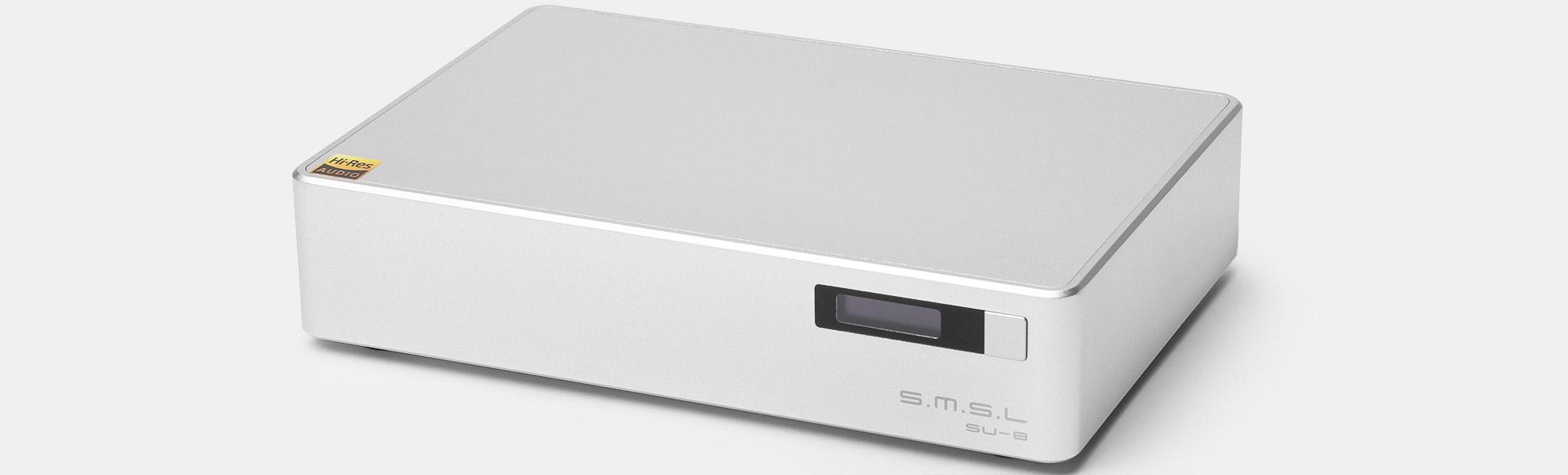 SMSL SU-8 DAC & SH-8 Headphone Amp