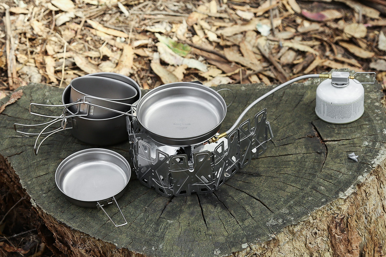Snow Peak Multi Compact Titanium Cookset