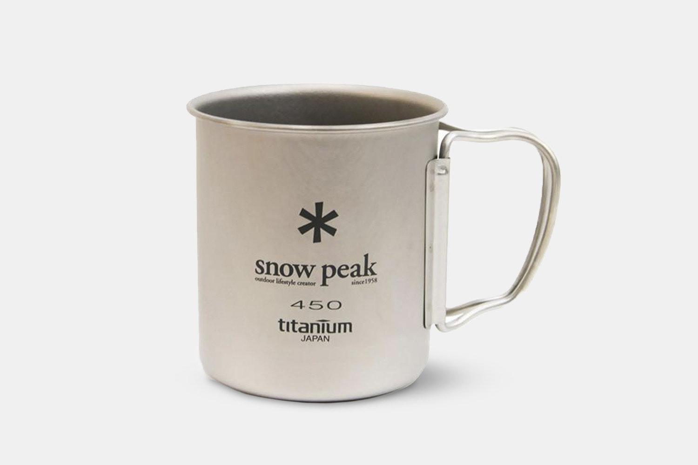 Snow Peak Single & Double-Wall Titanium Mugs