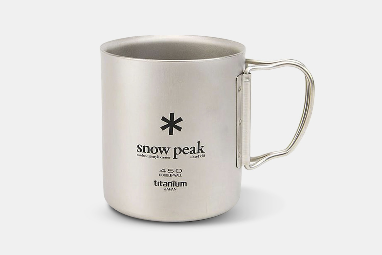 Snow Peak Double-Wall Titanium Mugs