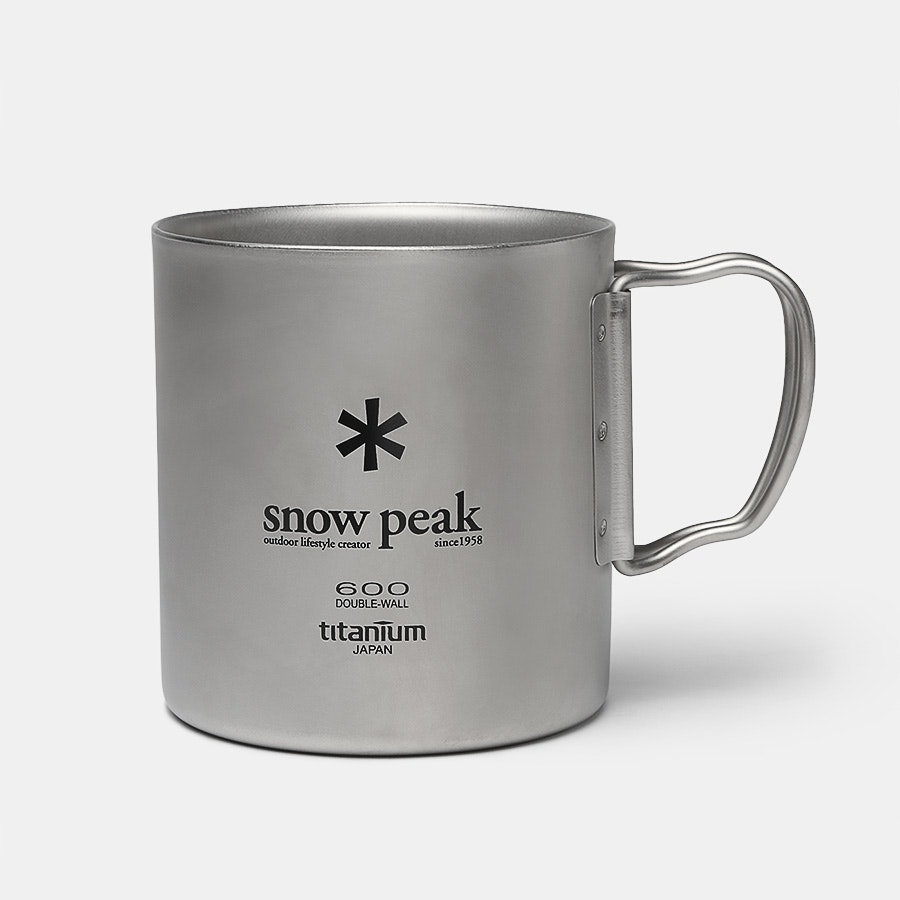 Snow Peak Ti-Double 600 Mug