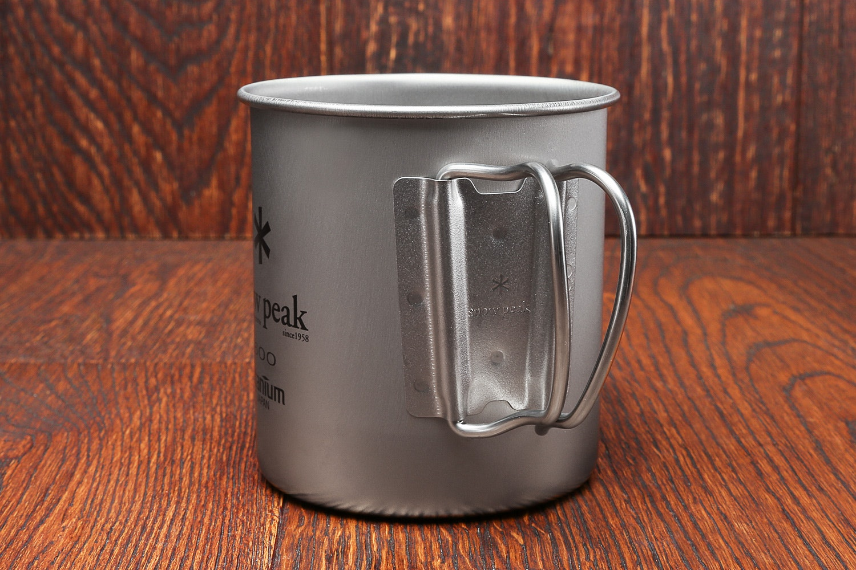 Snow Peak 600 Single-Wall Titanium Cup