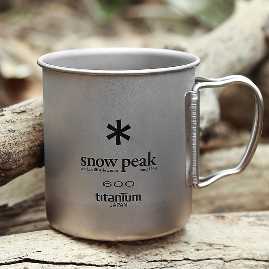 Snow Peak 600 Single-Wall Titanium Cup