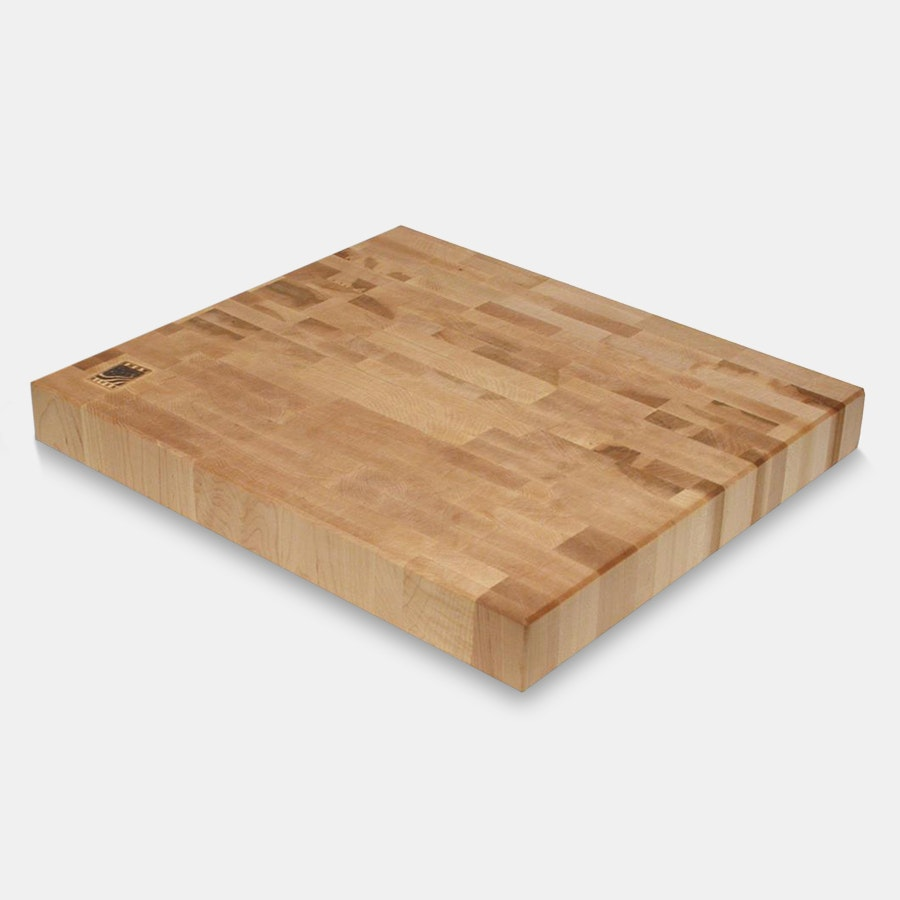Snow River End Grain Cutting Board