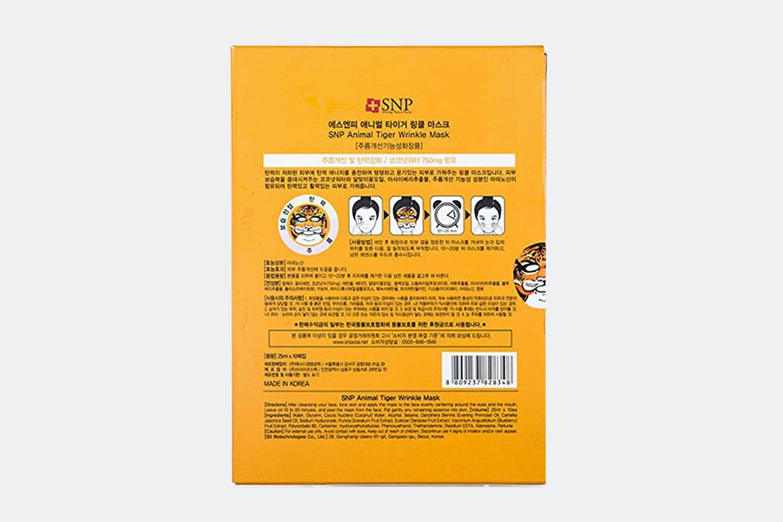 SNP Animal Masks (30 Sheets)