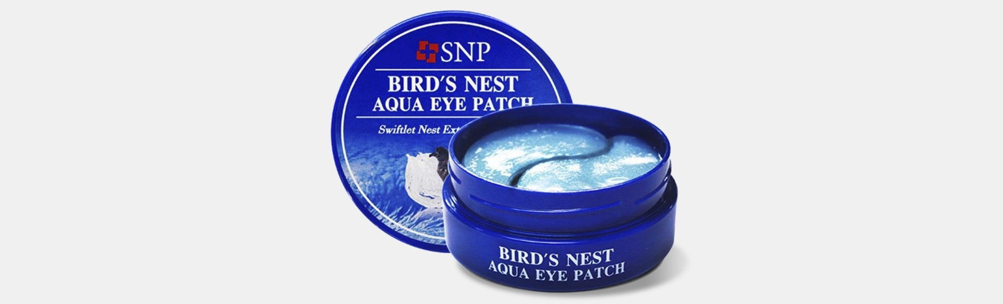 SNP Bird's Nest Aqua Eye Patches (120 Count)