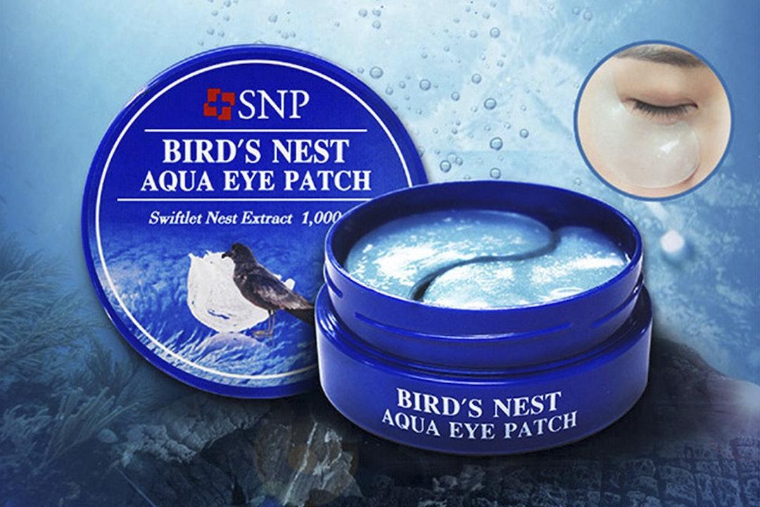 SNP Bird's Nest Aqua Eye Patches (120 Count)