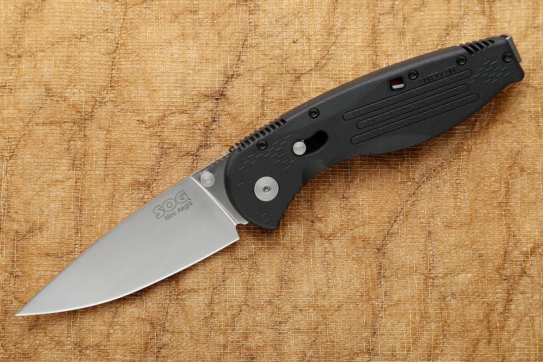 SOG Aegis Mini Folding Knife, Assisted