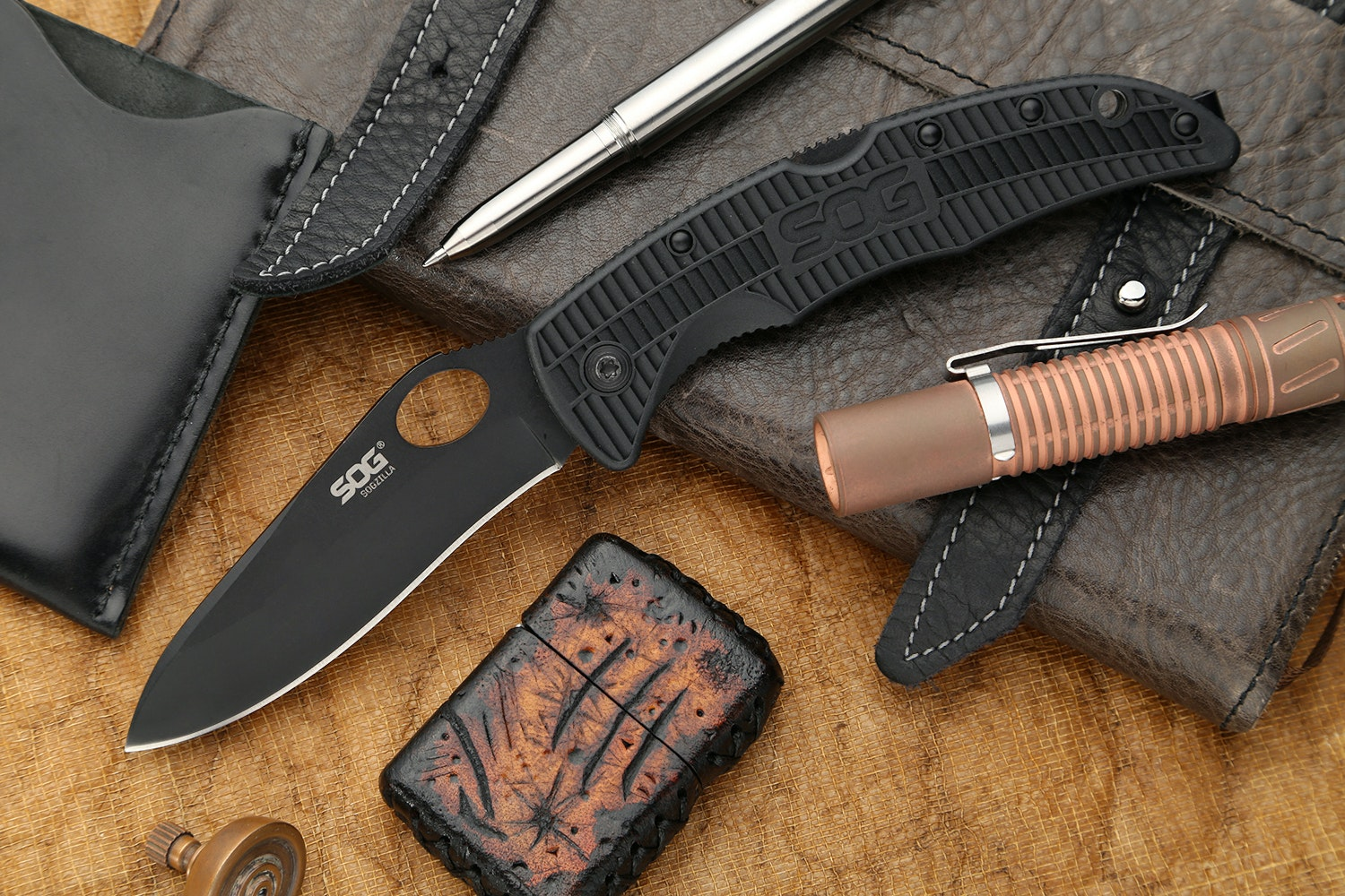 SOGzilla Large Folding Knife