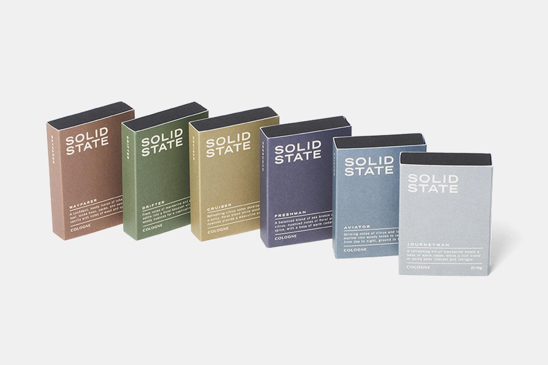 Collection - all six fragrances plus Japanese denim dopp kit (+ $75)