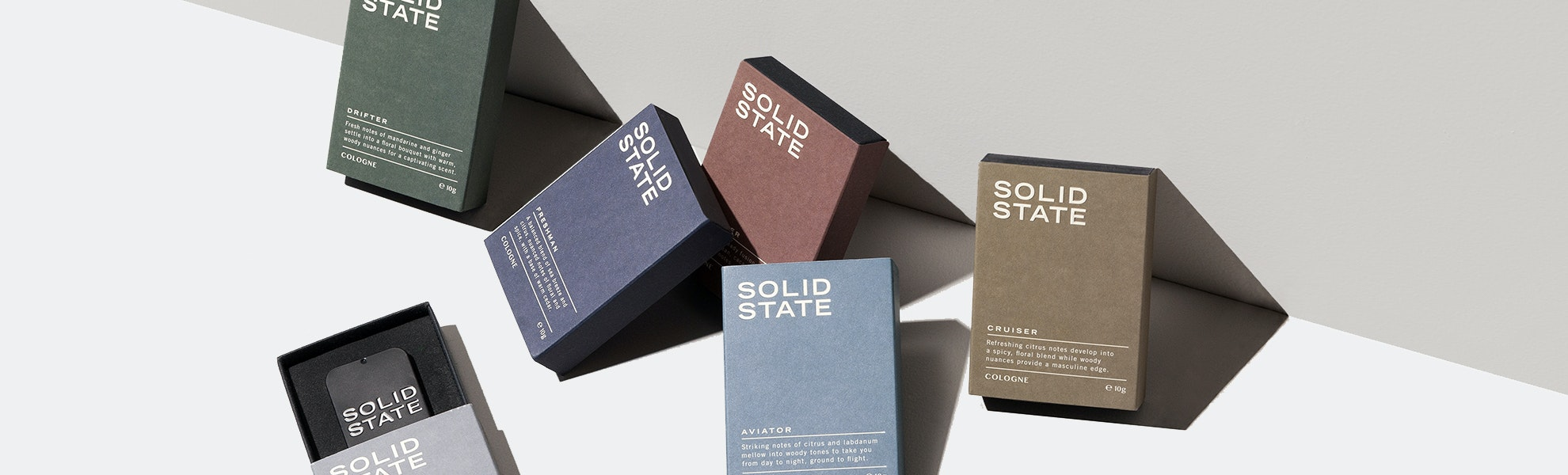 Solid State Solid Colognes