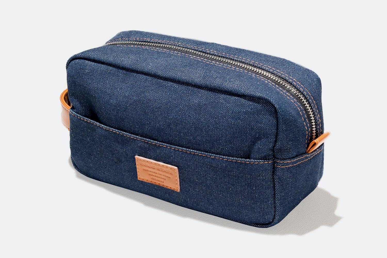 Optional Japanese Denm Dopp Bag (+ $30)