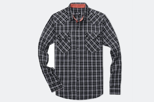 Something Strong Long-Sleeve Woven Shirts