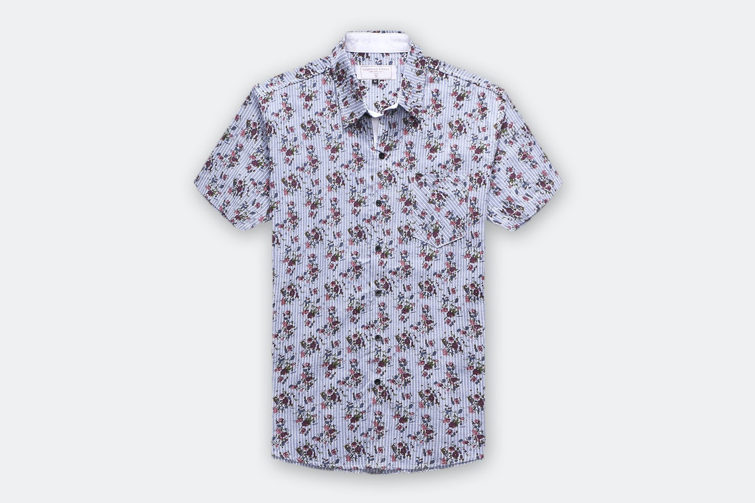 Something Strong Short-Sleeve Woven Shirts