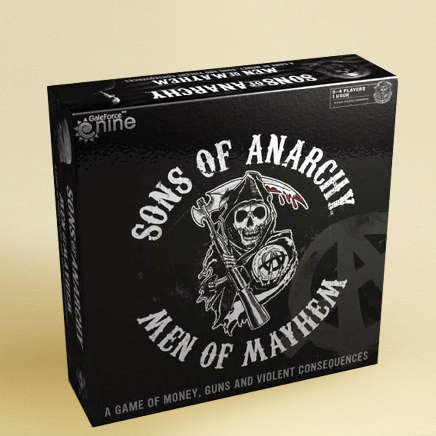 Sons of Anarchy: Men of Mayhem Board Game