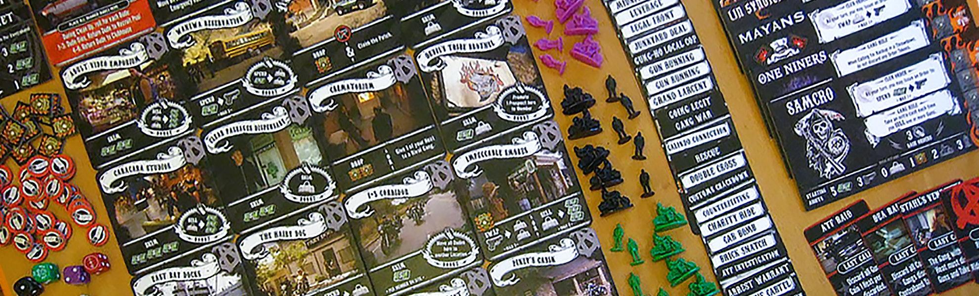 Sons of Anarchy: Men of Mayhem Board Game