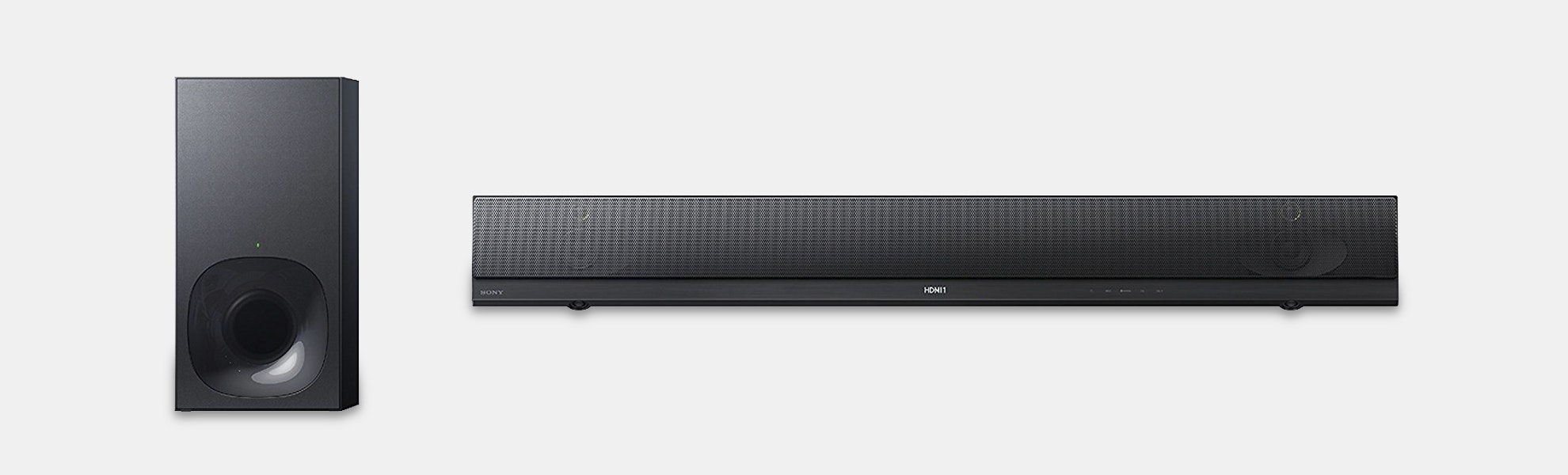 Sony 2.1ch High-Res Audio Soundbar HT-NT5