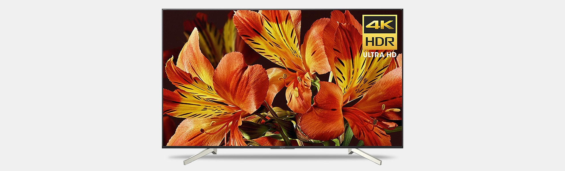 Sony 65/75/85 4K Ultra HD Smart LED TV (2018)