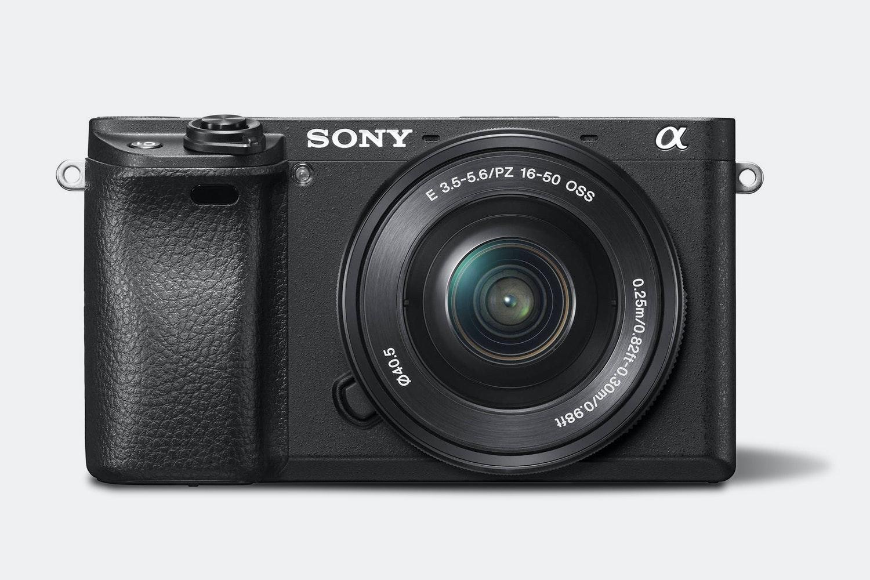 Sony Alpha a6300 Mirrorless Camera w/ 16–50mm Lens