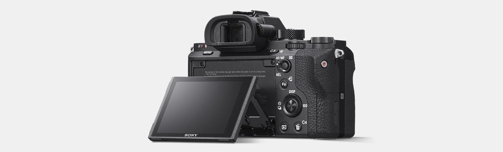 Sony Alpha a7R II Mirrorless Camera – Flash Sale